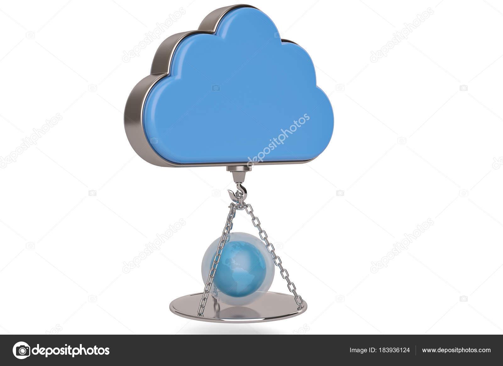 Kreative Idee Und Inspiration Wolke Und Globus Beim Wiegen Von Geschirr 3 Stockfoto C Holmessu 183936124