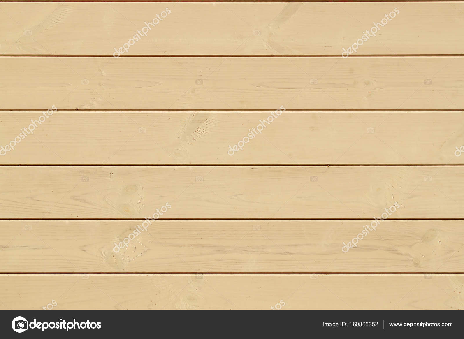 Light Wooden horizontal Wall Planking Texture. Solid Wood Slats ...