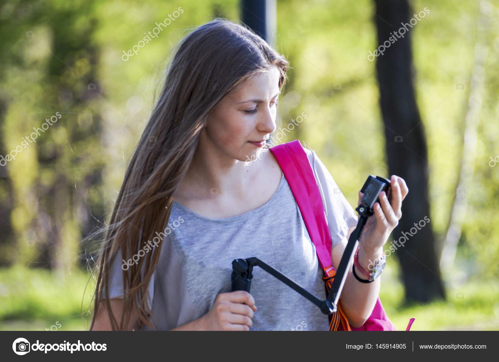 Teen joy in the park