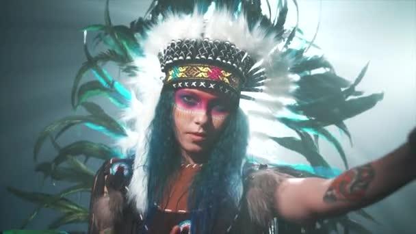 Indiánské ženě, kejklování
