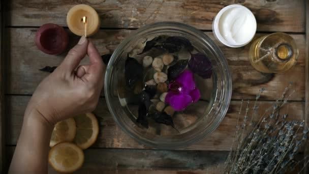 Aromaterápiás és szépségápolási eljárás
