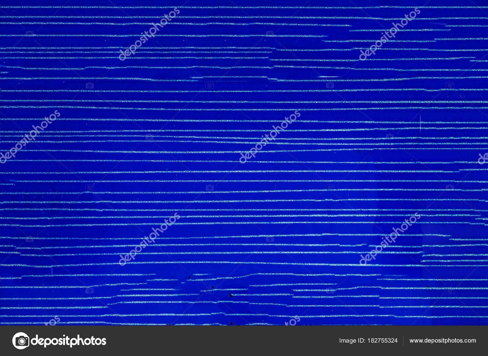 Colored ceramic tiles. Striped blue plastic background. — Stock ...