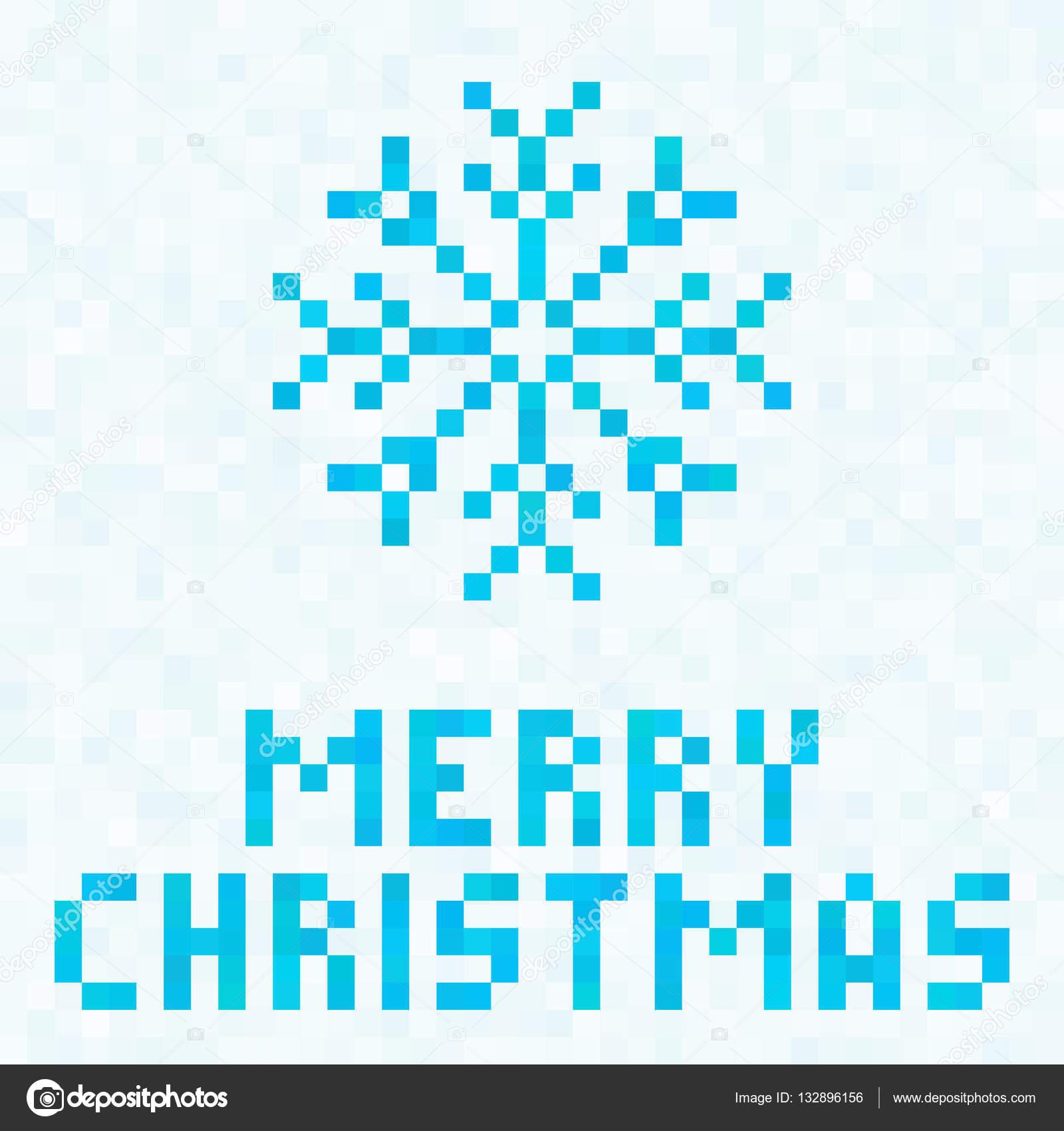 Décoration De Noël Icône De Flocon De Neige Bleue Vacances