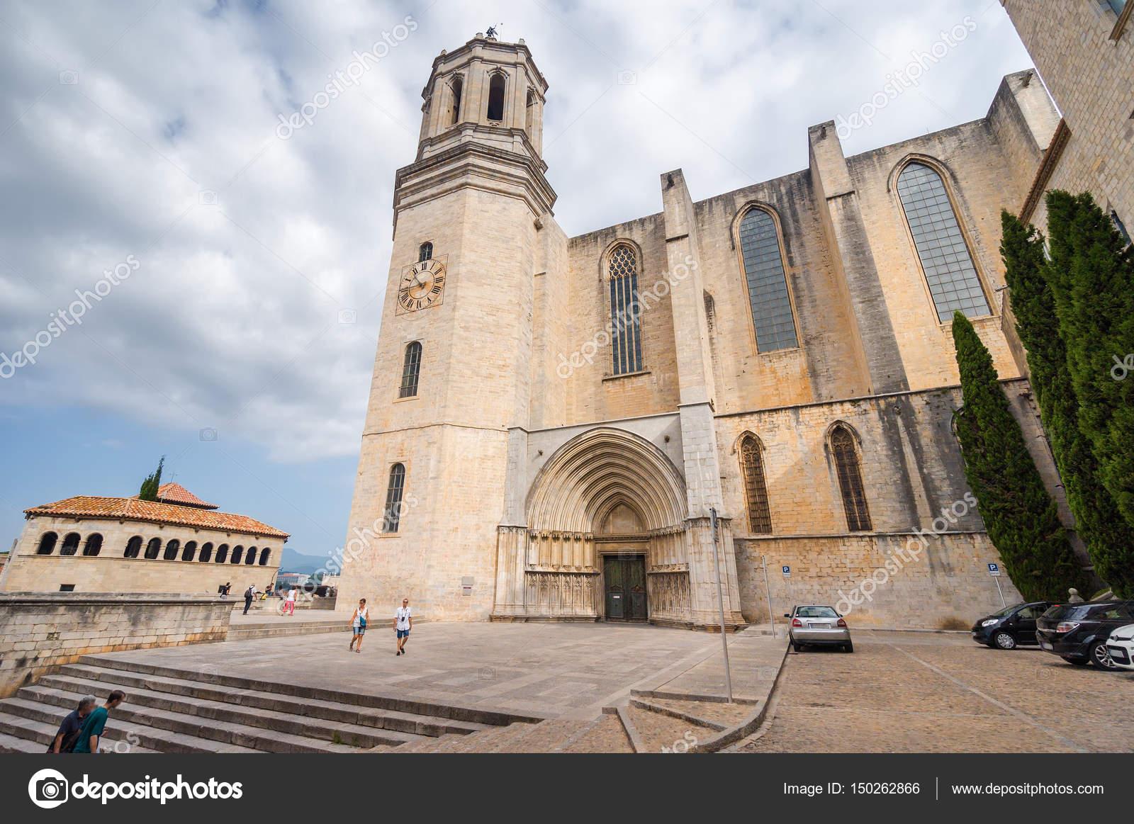 Fotos La Catedral De Girona Vista Nublada De La Catedral De