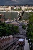 Fényképek Budapest Magyarország fővárosa a Duna szeli