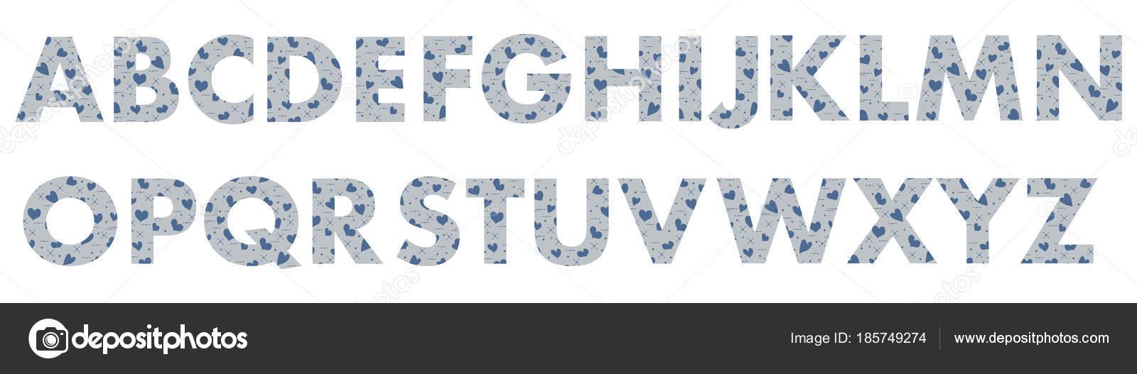 Letras mayúsculas del alfabeto inglés — Archivo Imágenes ...