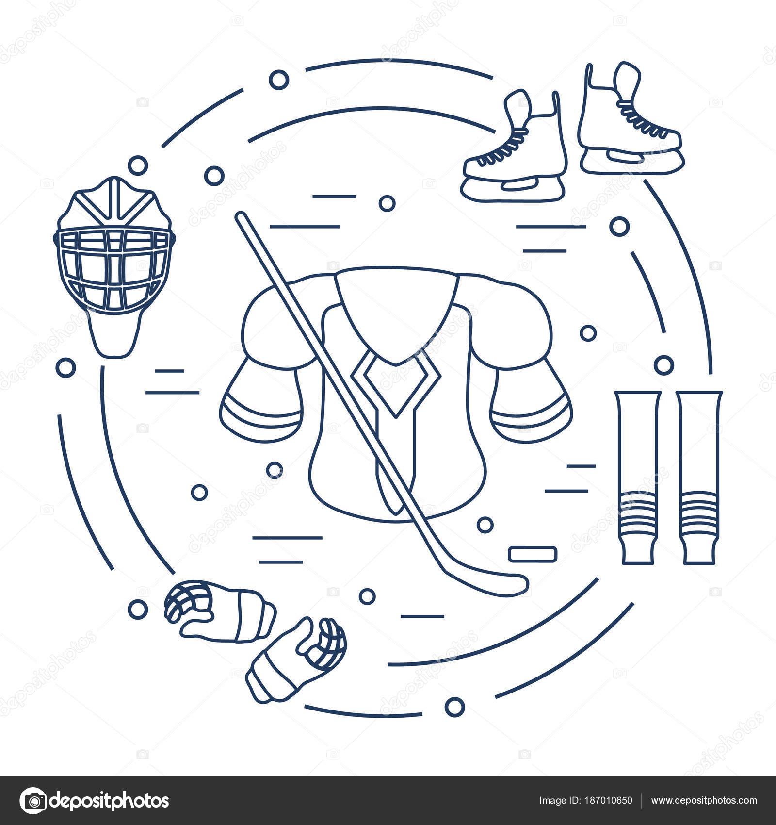 Lujo Hockey Imprimible Para Colorear Embellecimiento - Dibujos Para ...