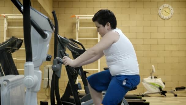 Entrenamiento sala de fitness perdida de peso