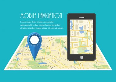 Vector illutration of fast delivery service. Express delivery