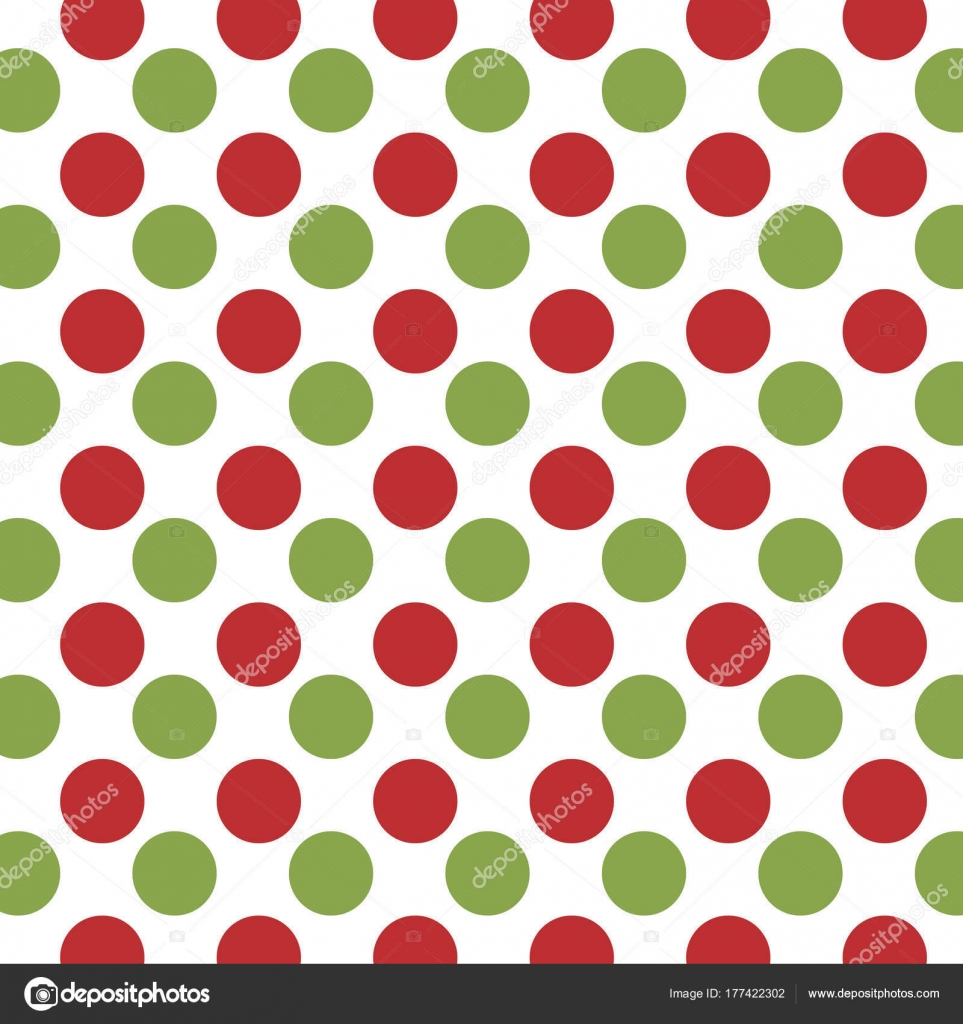 Jumbo Christmas Dots Eps File Has Global Colors Easy Color — Stock ...