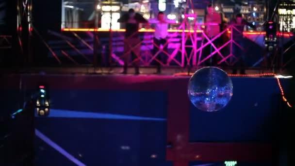 Light music Night club