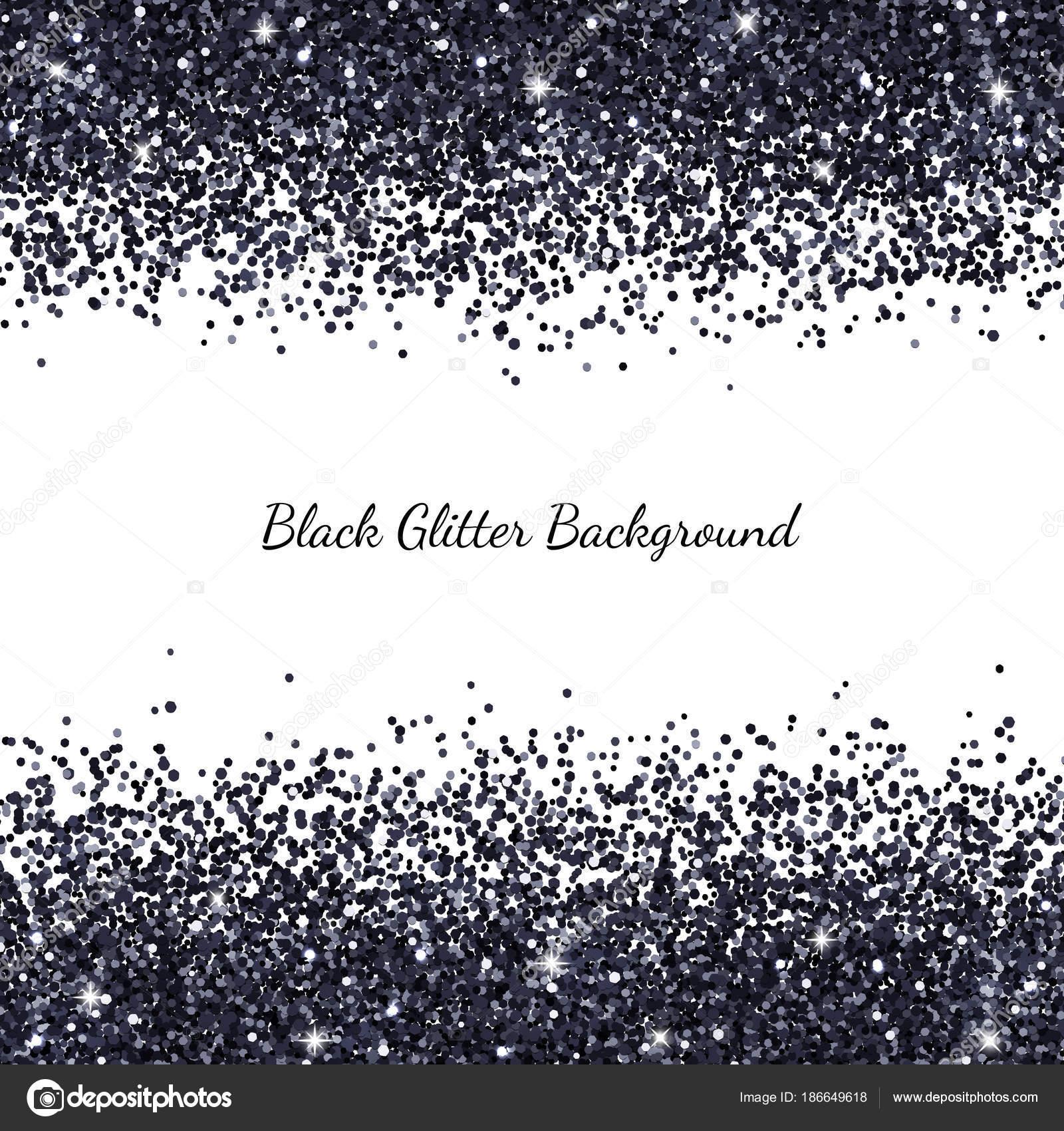 Illustrazione Brillantinato Bianco Sfondo Glitter Bianco E Nero
