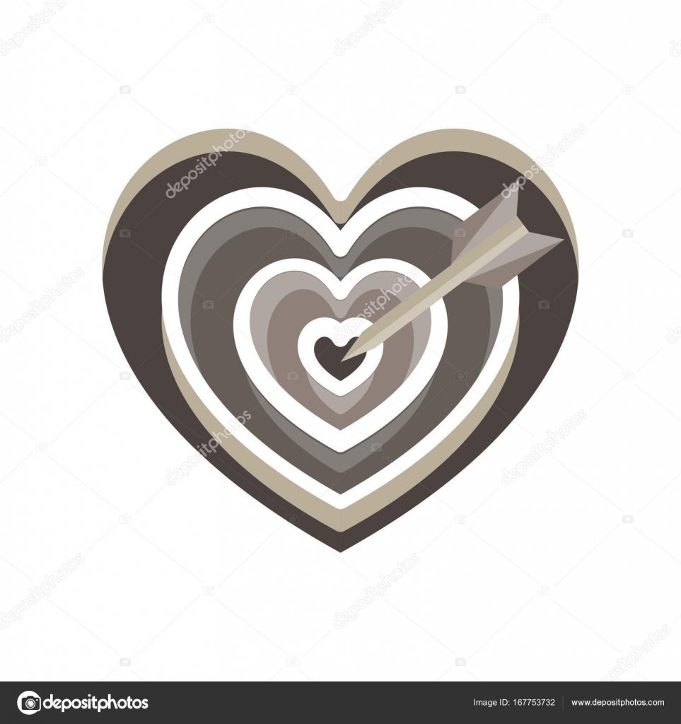 Heart target vector arrow love cupid icon valentine symbol stock heart target vector arrow love cupid icon valentine symbol stock vector buycottarizona Image collections