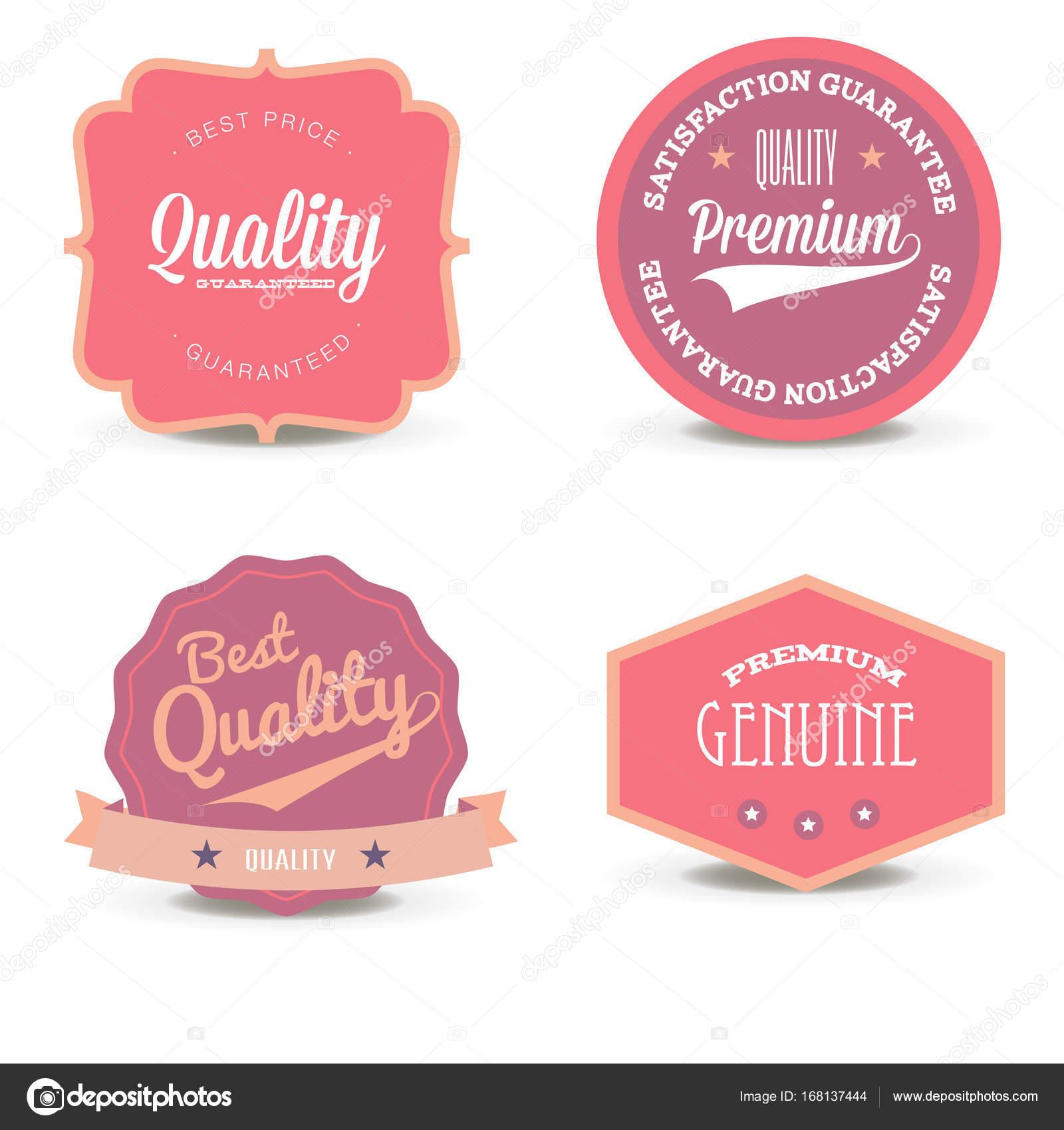 Vector set rosa sitio web oferta calidad diseño blanco especiales ...