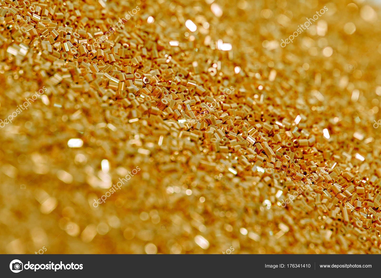 Publicidad Imagenes Abstractas: Fondo Brillantes Lentejuelas Oro Patrón Del Brillo