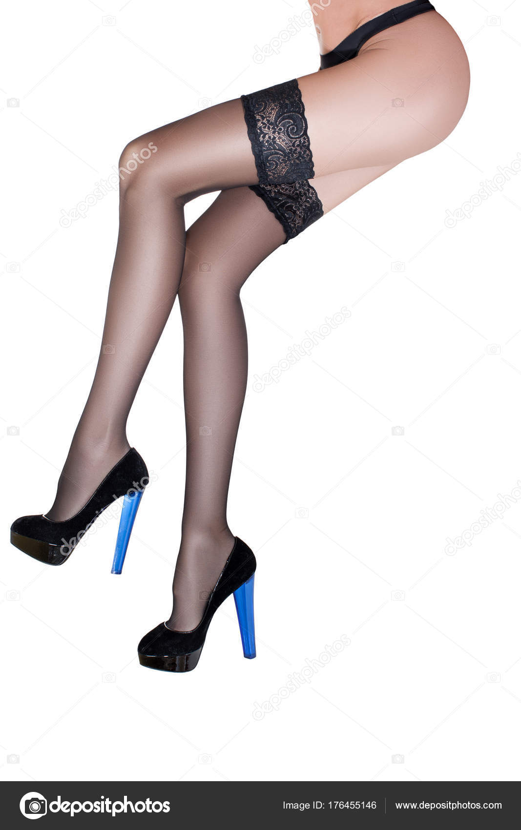Pity, that Sexy legs black stockings