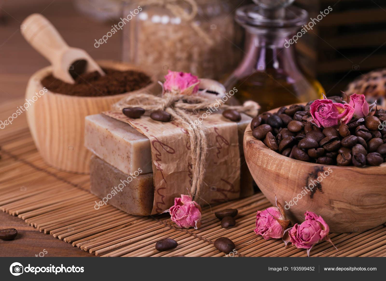 Мыло кофейное натуральное ручной работы