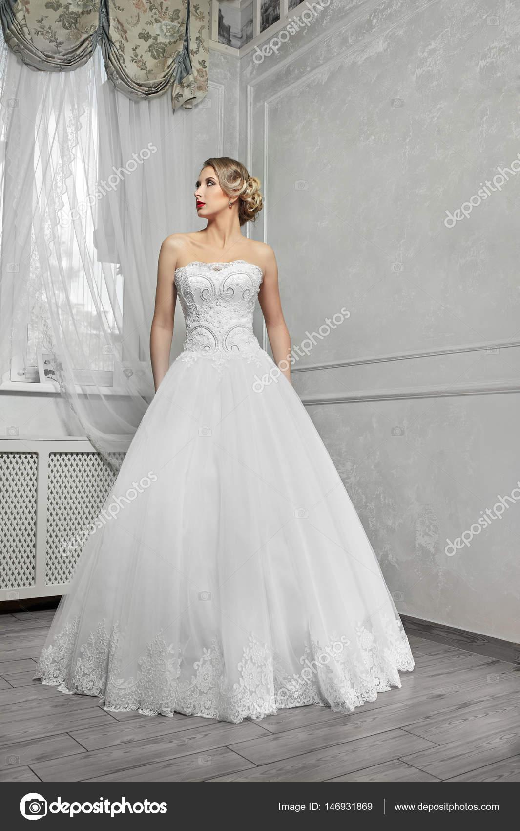 Vestidos de boda blanco largo