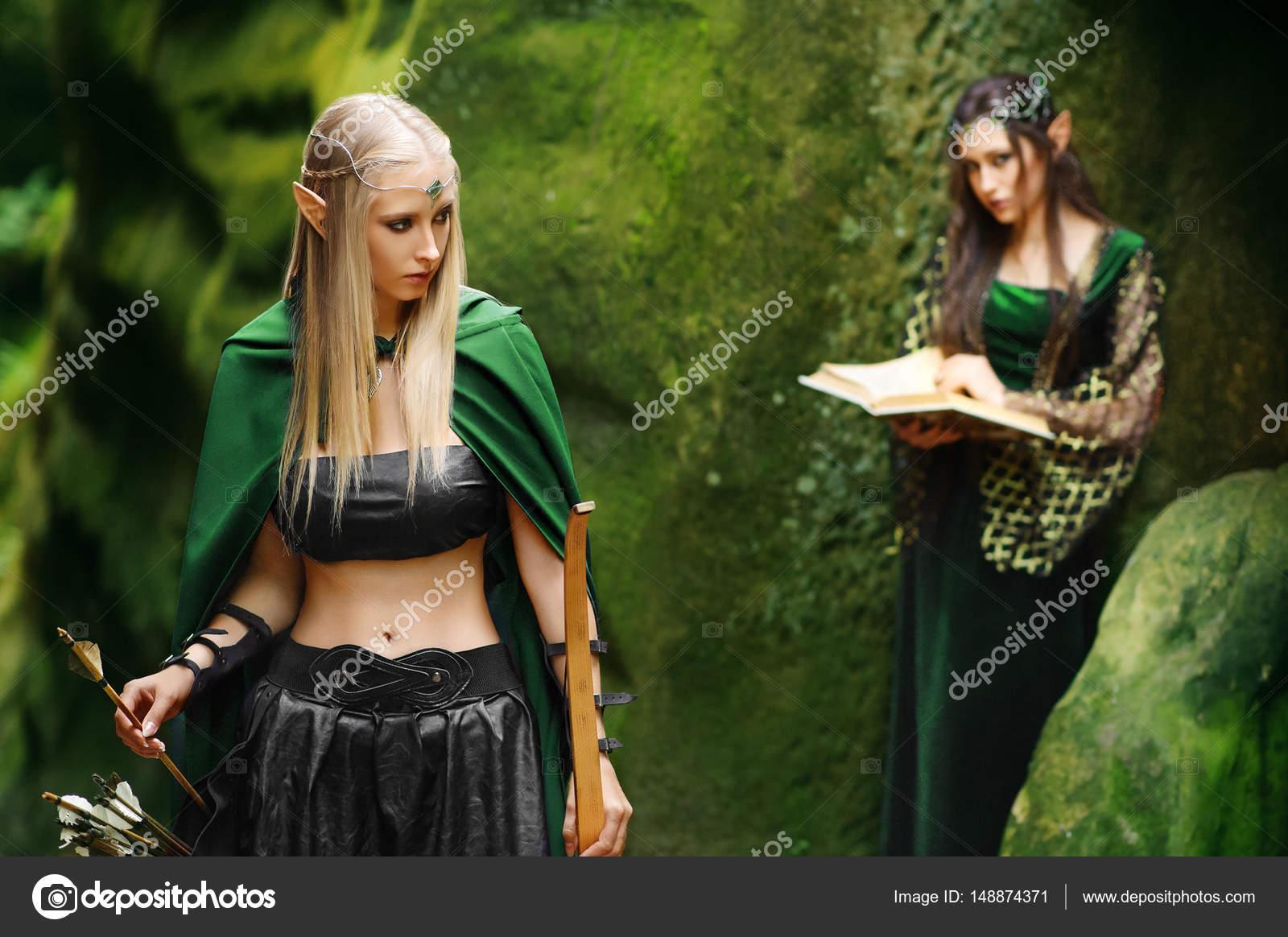 Сексуальные девочки эльфы