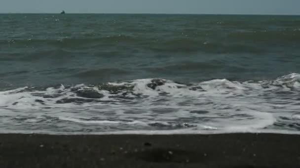 surf on the sandy beach