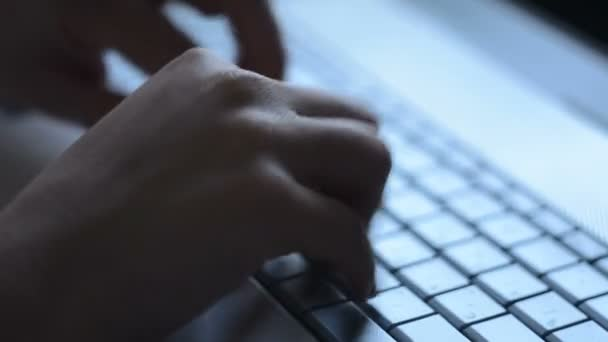 Testset auf der Tastatur