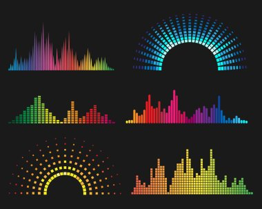Music digital waveforms