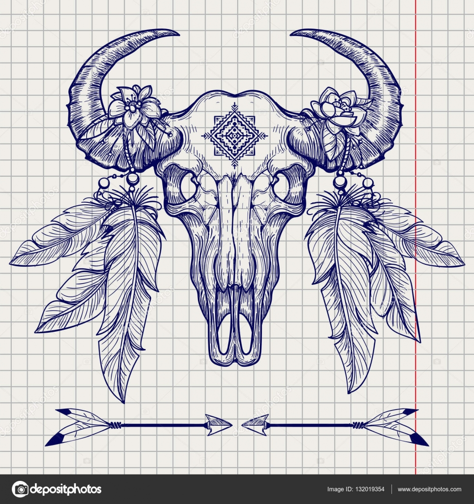 Buffalo Tattoo Stock Images, Royalty-Free Images &amp- Vectors ...