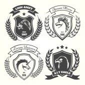 Kar set középkori heraldika címere