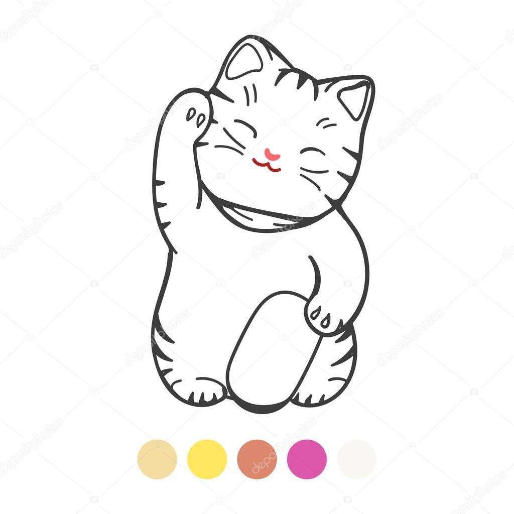 Fantastisch Süße Anime Kätzchen Malvorlagen Fotos - Malvorlagen ...