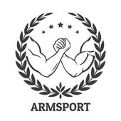 Fotografie Armwrestling-Logo