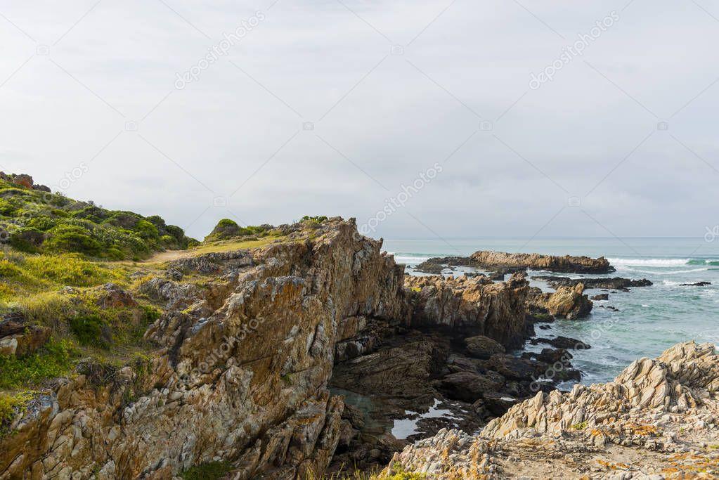 Cliff Path in Hermanus Town