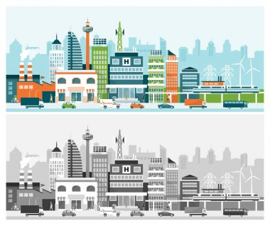banners of smart city