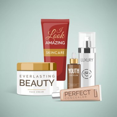 Cosmetics and skin care products