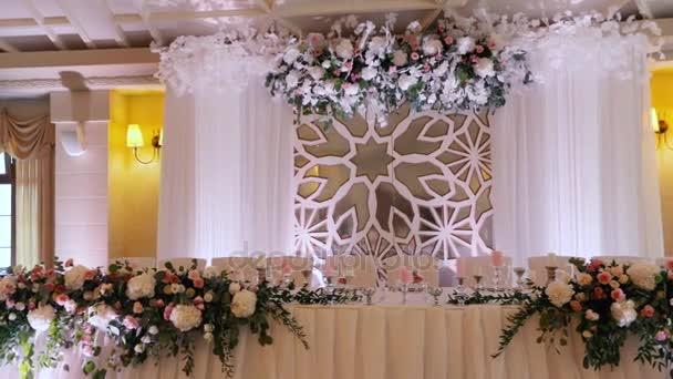 Beautiful Wedding Serving Exquisite