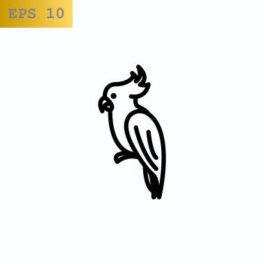 parrot bird icon