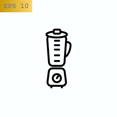 kitchen blender icon