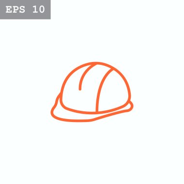 construction hardhat icon