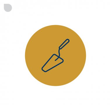 trowel tool icon