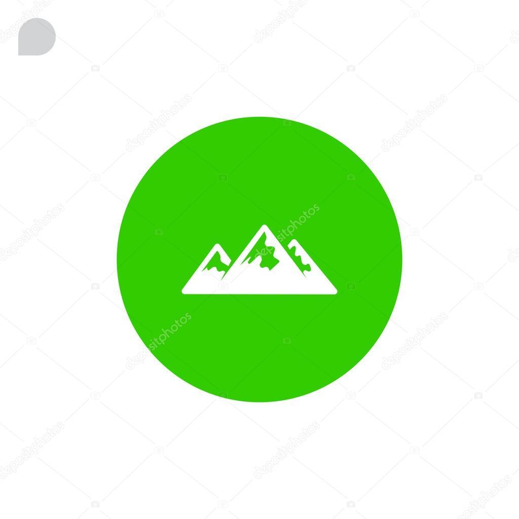 mountain range icon
