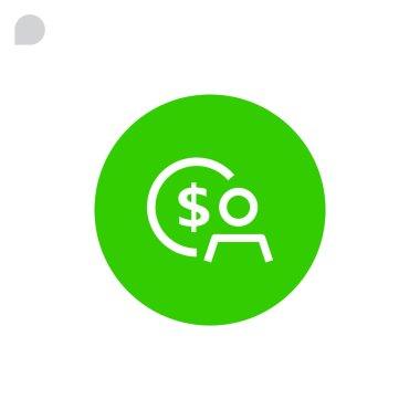 accountant, businessman icon