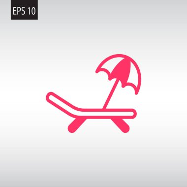 sunbed web icon