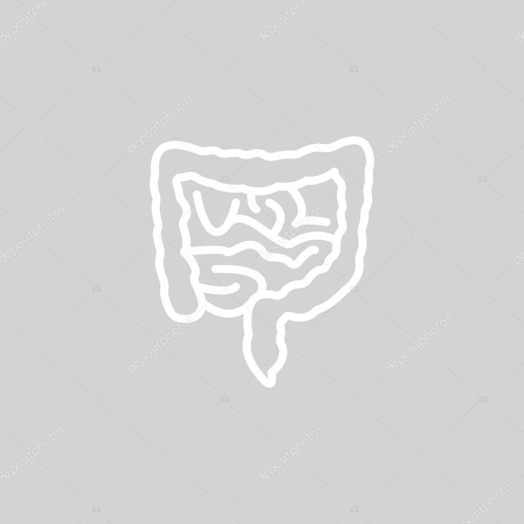 Anatomie web pictogram — Stockvector © Mr.Webicon #129128610
