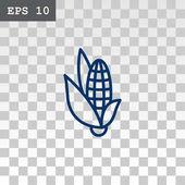 Photo corn web icon