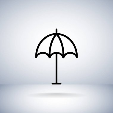 umbrella, parasol icon
