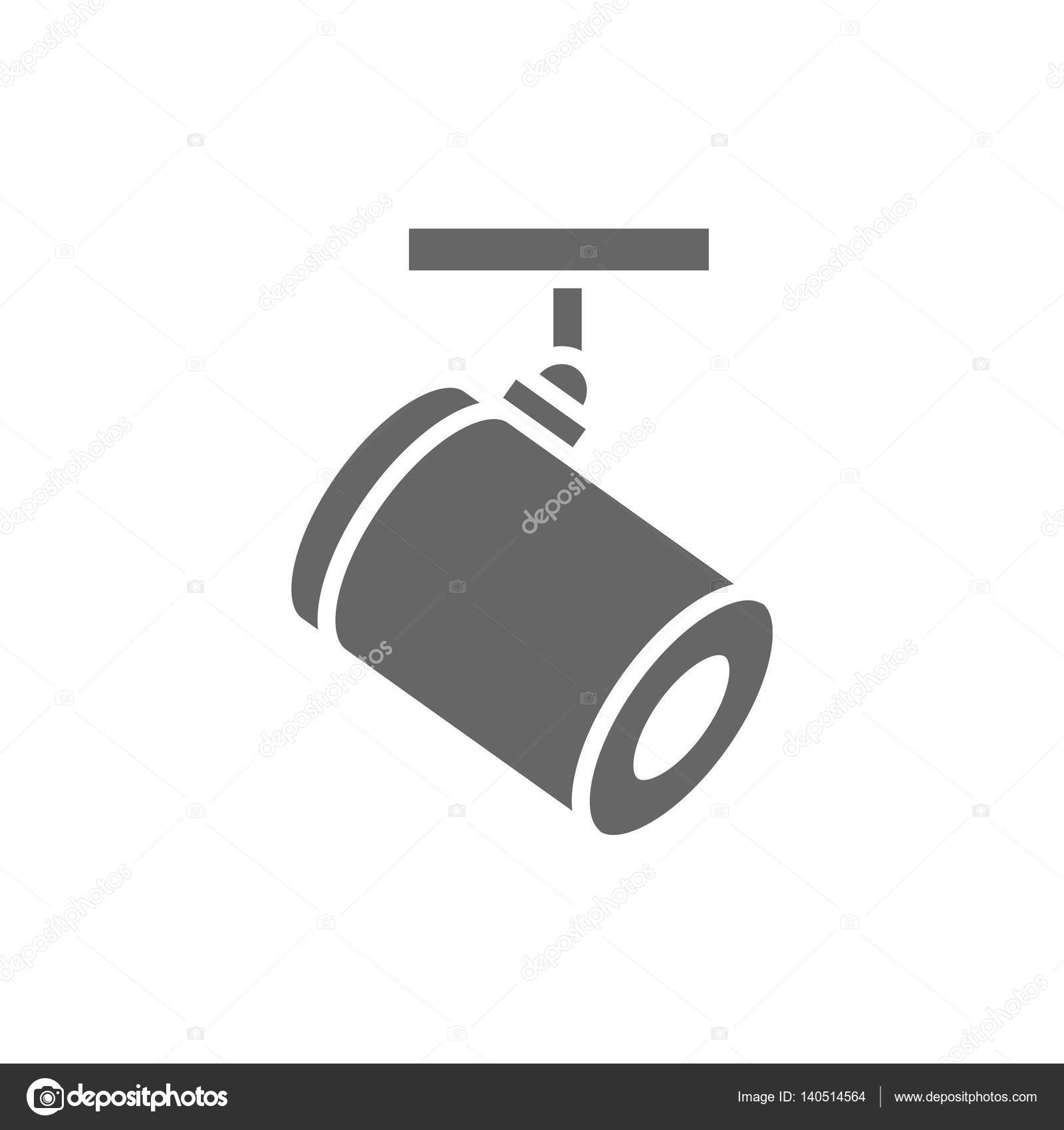 video surveillance camera icon. Black Bedroom Furniture Sets. Home Design Ideas