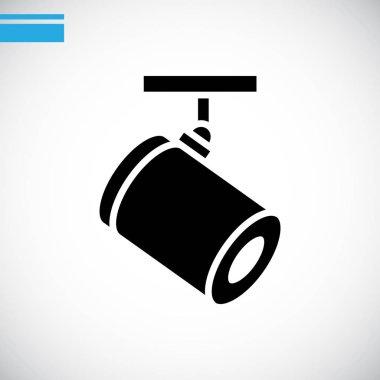 spotlight icon flat