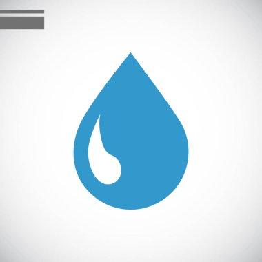 drop flat icon