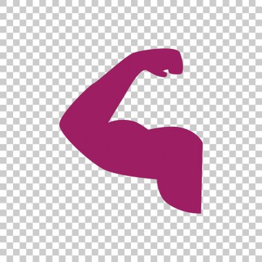 bicep icon  illustration