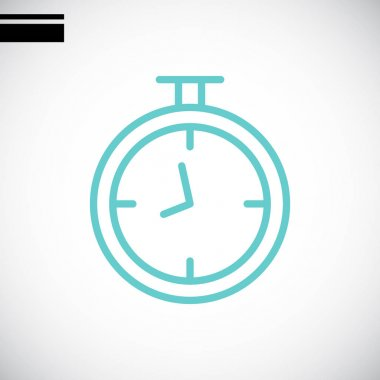 stopwatch simple icon