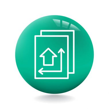 Vector illustration design of document icon clip art vector